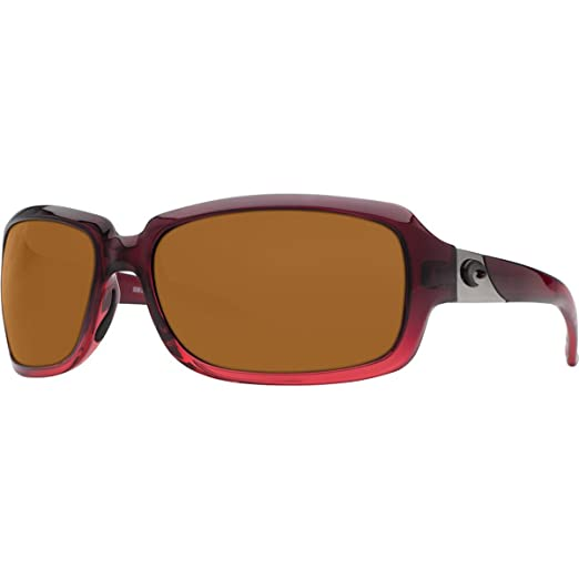 c1a76d4dceee Costa Del Mar Sunglasses - Isabela- Plastic   Frame  Pomegranate Fade Lens   Polarized