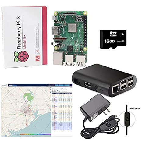 Amazon com: SMI Raspberry Pi 3 Model B+ Latest FlightAware