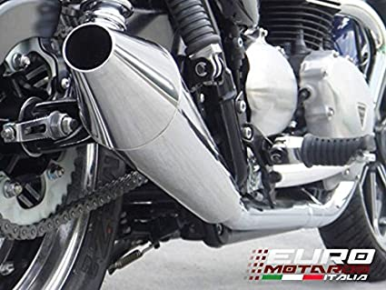 Amazoncom Triumph Bonneville Se Injection Zard Exhaust Stainless