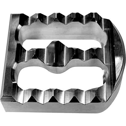 Joker Machine Forward Controls - Joker MacHine Serrated Cover for Brake Pedal Raw Aluminum for HD FXCW FXDWG FXST
