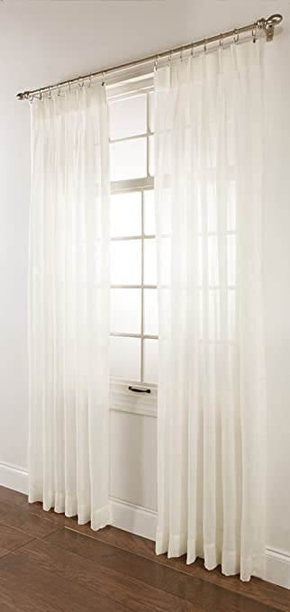 stylemaster splendor pinch pleated drapes 120 by 84inch beige