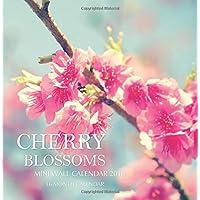 Cherry Blossoms Mini Wall Calendar 2018: 16 Month Calendar