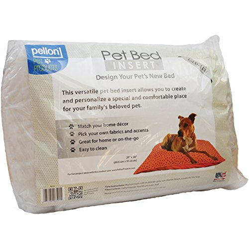 Pellon Interfacing Pet Bed Inserts, 27 x 36 Inch, White (Covers Replacement Bed Dog Rectangle)