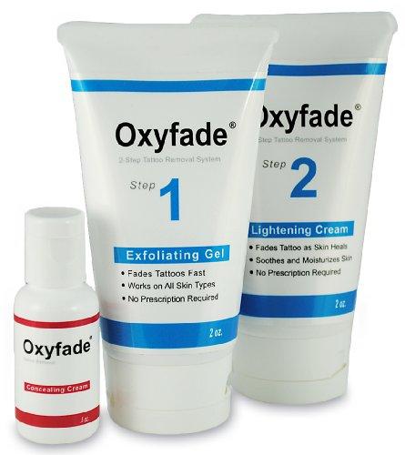 Galleon Oxyfade Kit Tattoo Cream Removal Tattoo Cream Fade
