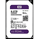 PC Hardware : WD Purple 8TB Surveillance Hard Disk Drive - 5400 RPM Class SATA 6 Gb/s 128MB Cache 3.5 inch - WD80PUZX [Old Version]