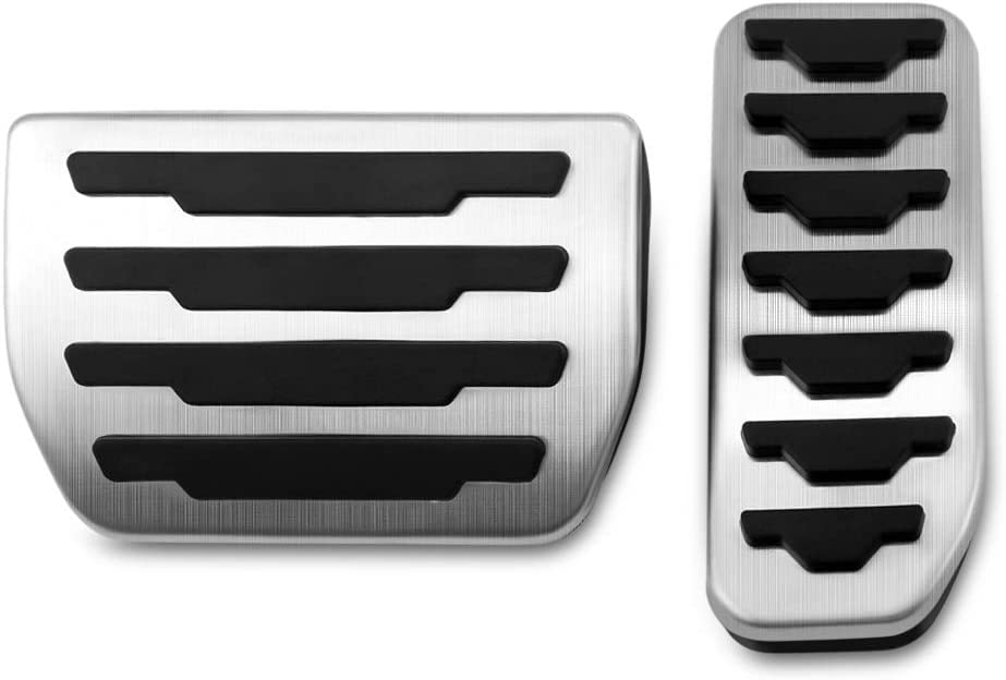 Gas Brake Pedal Cover for Land Rover Evoque Velar Discovery Sport Jaguar XE XF E-Pace F-Pace