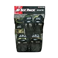 187 Killer Pads Junior Six Pack (Camo)