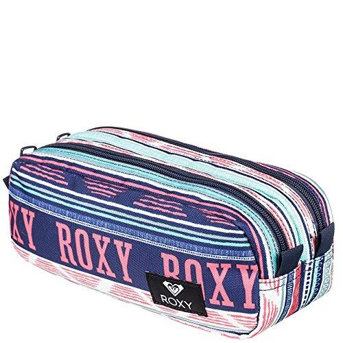 Roxy Da Rock Pencil Case - Bright White AX Boheme Border