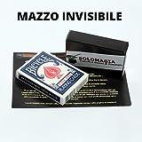 Mazzo di Carte Bicycle Mazzo Invisibile - Invisible Deck - dorso blu - Mazzi truccati - SOLOMAGIA