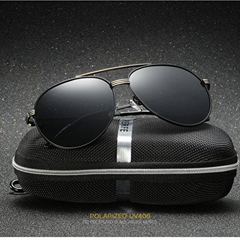 Aviator C1 para 400 para Mujer UV De Polarizadas Sol Gafas Hombre C2 Protección wqaTAT