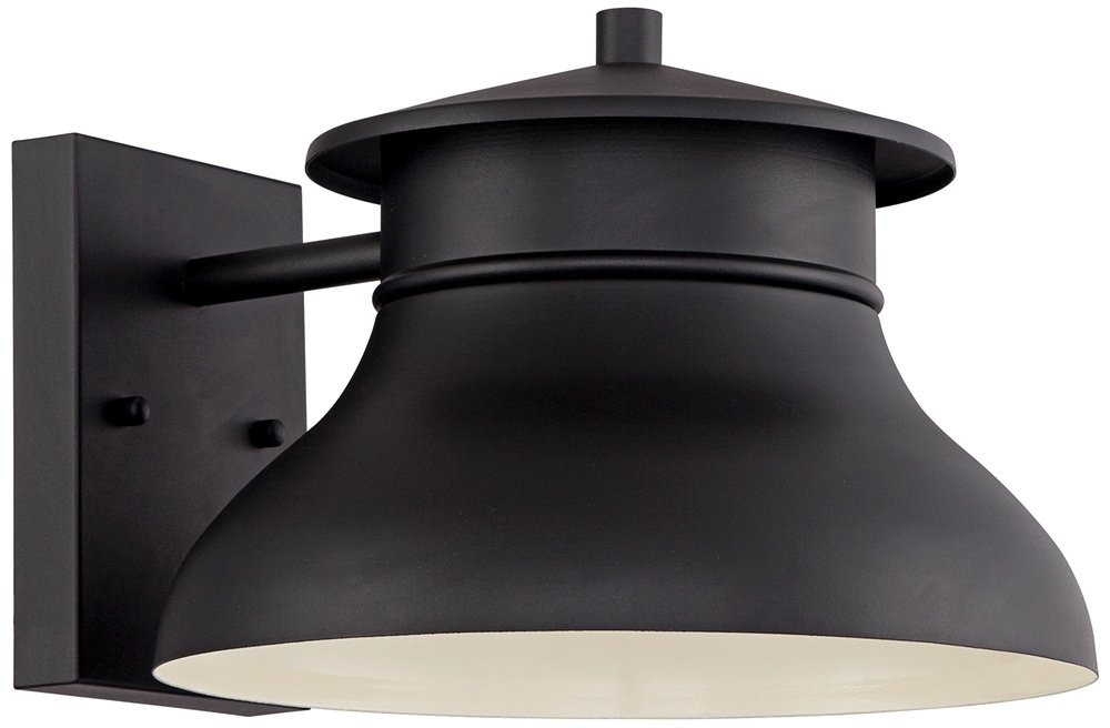 LED Energy Efficient Black 7 1/2  High Outdoor Wall Light - - Amazon.com  sc 1 st  Amazon.com & LED Energy Efficient Black 7 1/2