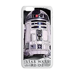 Cool Painting star wars r2-d2 Phone Case for Iphone 6 Plus