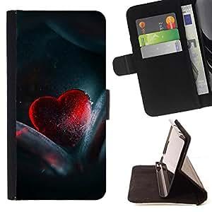 Kingstore / - Corazón de cristal rojo - HTC One M7