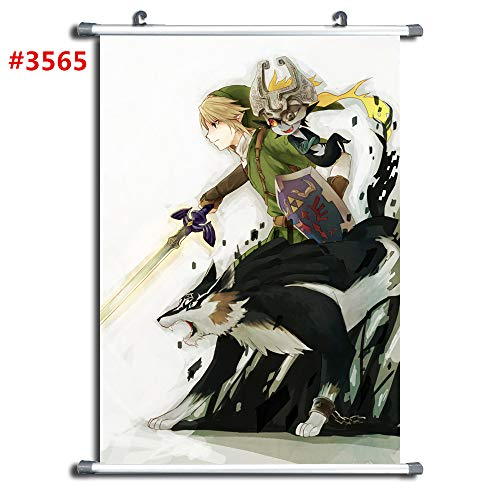 3565 The Legend of Zelda Anime Manga Wall Poster Scroll Room