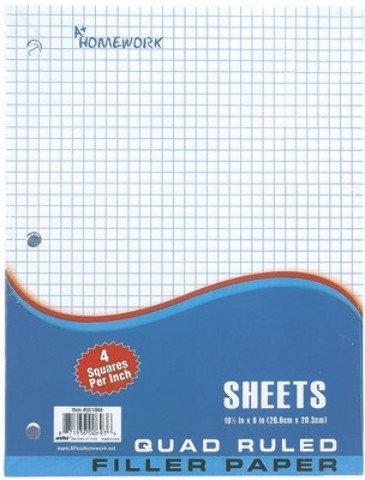 Graph Filler Paper - 100 Ct 12 pcs sku# 1894311MA by DDI