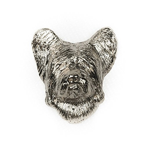 SKYE TERRIER Made in U.K Artistic Style Dog Clutch Lapel Pin Collection