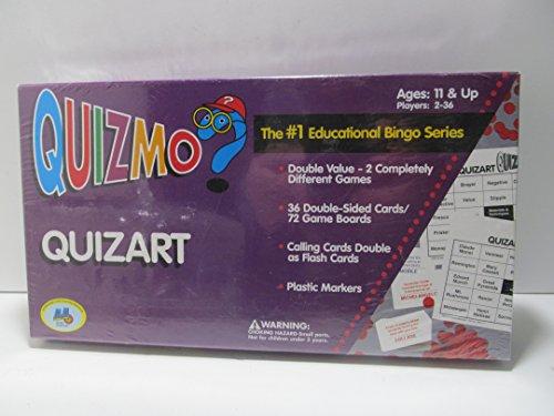 Quizmo Series - QuizArt #1 Educational Bingo Series - Art