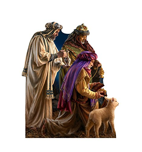 Three Wise Men - Dona Gelsinger Art - Advanced Graphics Life Size Cardboard Standup by Advanced Graphics