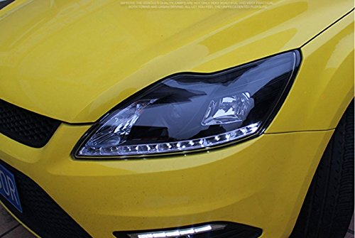 GOWE Car Styling for Ford Focus Headlights 2009-2013 Focus 2 LED Headlight DRL Bi Xenon Lens High Low Beam Parking Fog Lamp Color Temperature:8000k;Wattage:55w 1