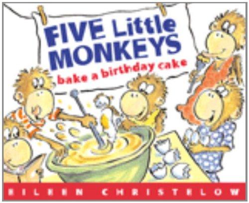 Read Online Five Little Monkeys Bake a Birthday Cake Book & Cassette: (formerly titled Don't Wake Up Mama) (A Five Little Monkeys Story) pdf