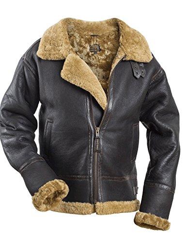 ALPHA Marrón de B chaqueta piloto 3 5qwa1UxOg