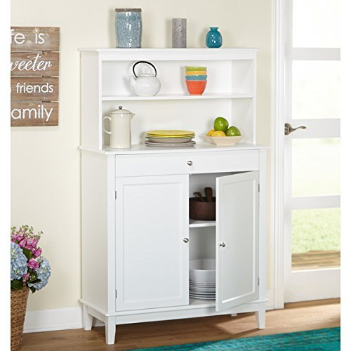 Simple Living Farmhouse Buffet with Hutch 4406827