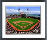 "AT&T Park San Francisco Giants MLB Stadium Photo (Size: 18"" x 22"") Framed"
