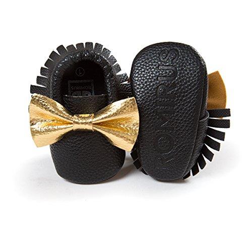 etrack-online Infant Toddler Moccasins Prewalker zapatos de cribe PW Talla:0-6 meses BJ