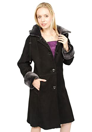 983b29bb61e Women s Danica Shearling Coat at Amazon Women s Coats Shop