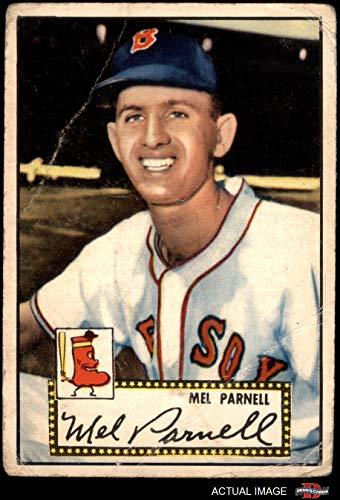 1952 Topps # 30 Mel Parnell Boston Red Sox (Baseball Card) Dean