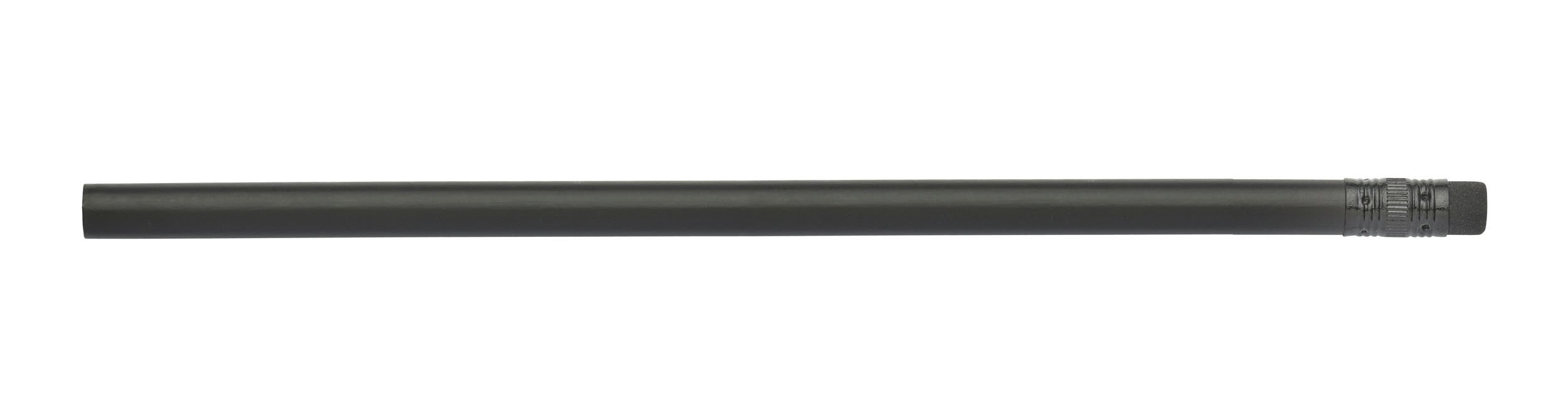 Pencil Guy Blank Black Matte Round Pencils Black Matte 144 to a Box