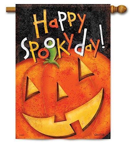 Happy Spooky Day Halloween House Flag - 28