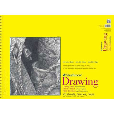 Strathmore 300 Series Drawing Pad, 18