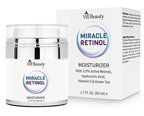 [Upgraded] Miracle Retinol Moisturizing Cream - With Retinol, Hyaluronic