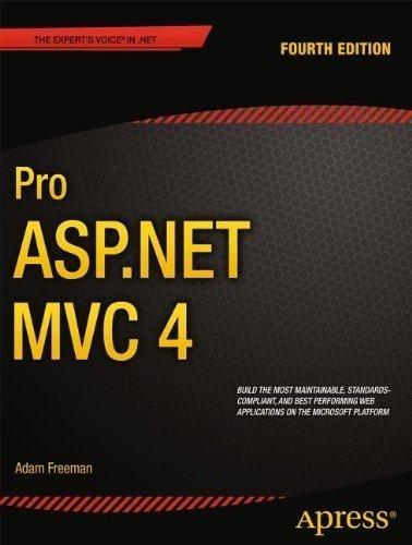 Pro Asp.Net Mvc 4 by Adam Freeman (Dec 20 2012) by Apress Publishers