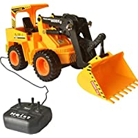 Akshat Remote Control Battery Operated JCB Crane Truck Toy