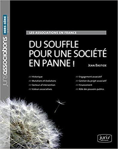 Livres gratuits Les associations en France. Du souffle pour une société en panne ! - 1ère édition pdf