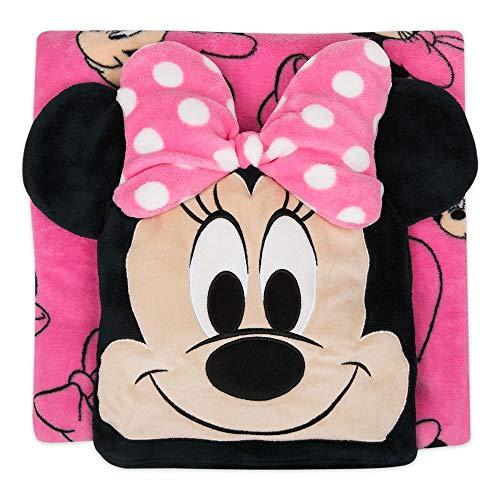 Disney Minnie Mouse Convertible Fleece Throw (Minnie Mouse Fleece Blanket)