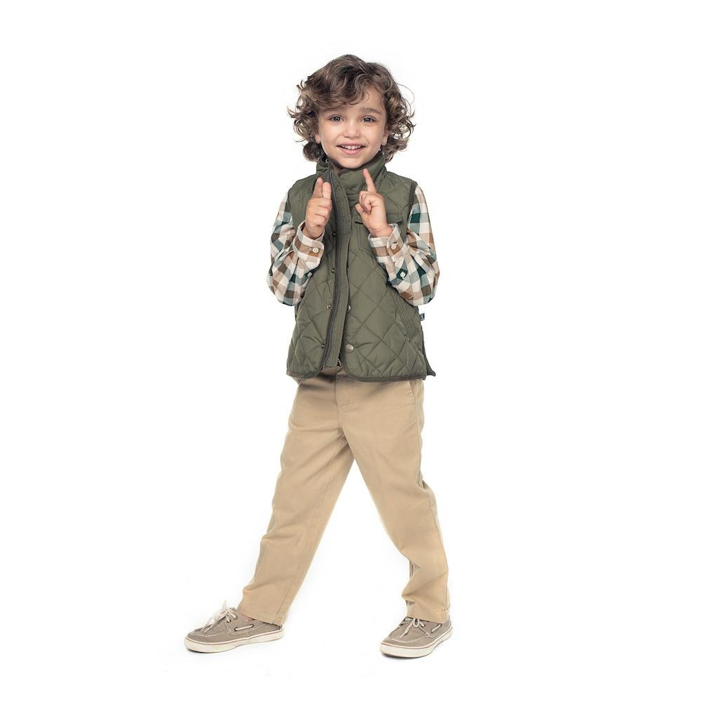 E.Land Kids Quilted Vest