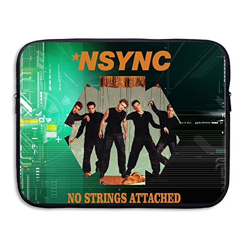 Bro-Custom N Sync-No Attached Lightweight Notebook Computer Inside Bag One Size Fit All Black (Justin Timberlake Nsync Costume)