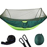 YZ-Room Camping Hammock with Mosquito Net, Quick Dry Jungle Hammock,360 Degrees of Portable Insect Protection for Backpacking & Camping (003)