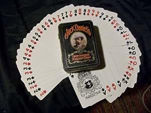 Jack Daniels OLD No7 Gentlemen's Playing Cards in Hudson Scott LTD Tin Can