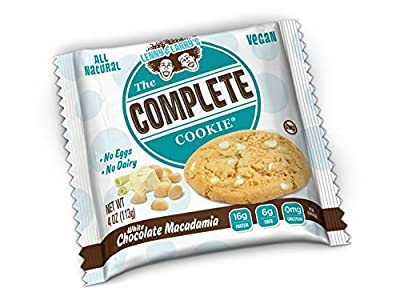 Lenny & Larry's The Complete Cookie, White Chocolate Macadamia, 12 Count