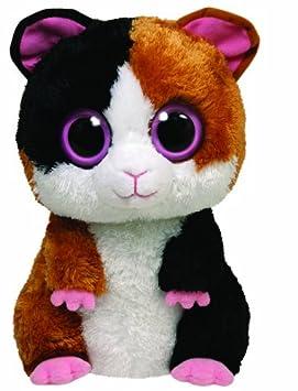 Ty Beanie Boos 7136923 Nibbles - Conejillo de indias de peluche, 21,5 cm