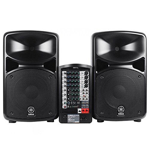 Yamaha stagepas 600i 600 i pa system with microphone - Branchement enceinte amplifiee table mixage ...