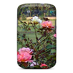New Style Case Cover CTYWCdo5419thzNF Rose Garden Compatible With Galaxy S3 Protection Case