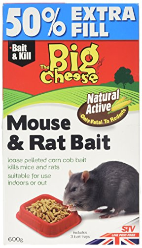 The Big Cheese Natural Mouse and Rat Bait (Chemical-Free Rodent Killer...