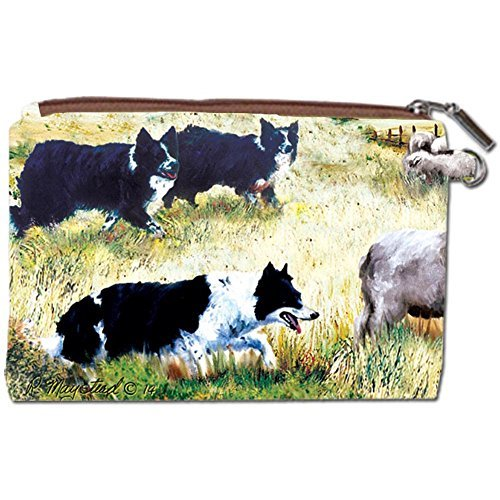 Border Collie Zipper Pouch by Gift Item