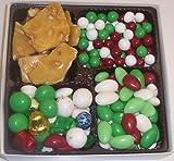 Scott's Cakes Large 4-Pack Deluxe Christmas Mix, Dutch Mints, Christmas Jordan Almonds, & Chocolate Jordan Almonds
