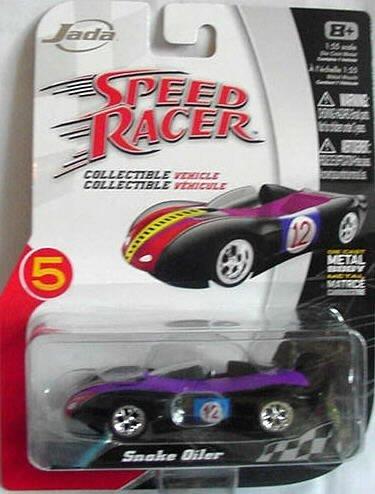 Speed Racer Jada Snake Oiler 1:55 Scale Die-cast Car